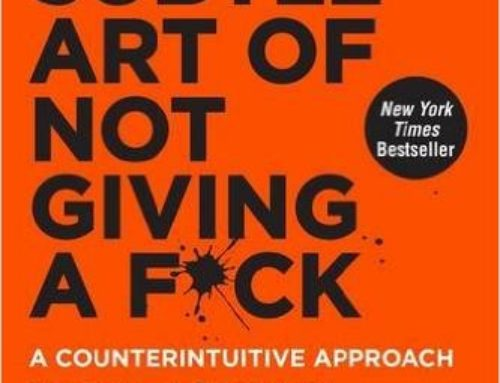 The Subtle Art of not Giving a Fuck – Book Review